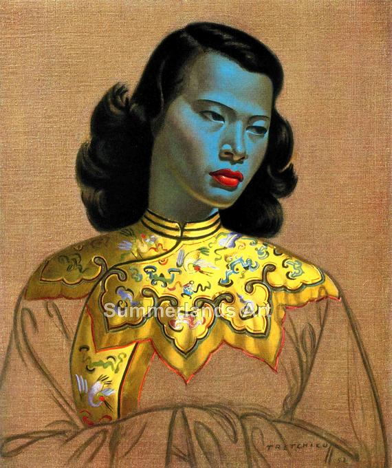 The 1952 very popular painting by the artist Vladimir Tretchikoff.